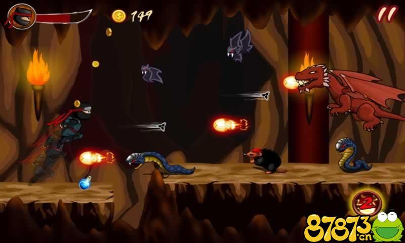 忍者英雄:超级战斗截图2
