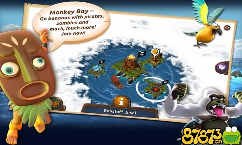 猴子海湾:海盗岛截图1