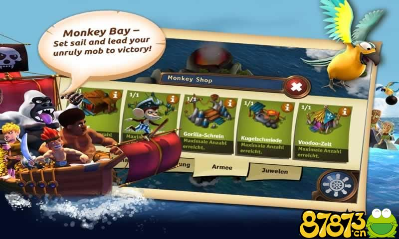 猴子海湾:海盗岛截图2