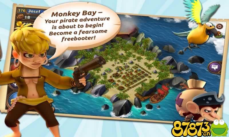 猴子海湾:海盗岛截图3