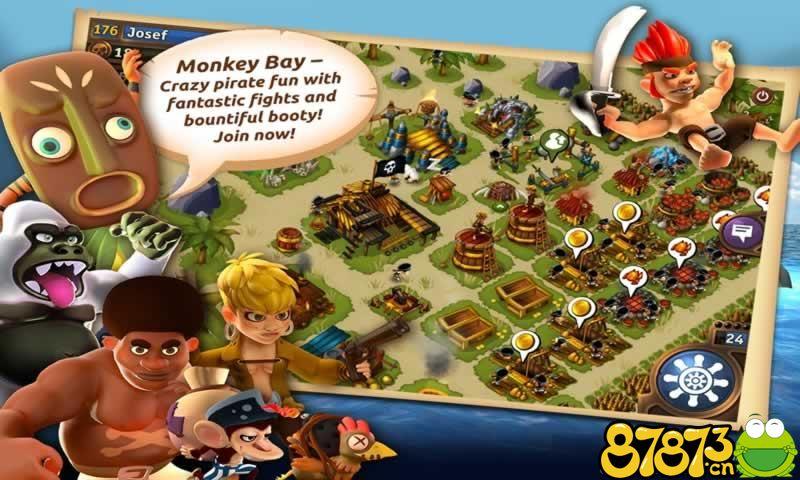 猴子海湾:海盗岛截图4
