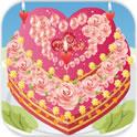 浪漫鲜花蛋糕