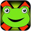 青蛙的交叉道路冒险